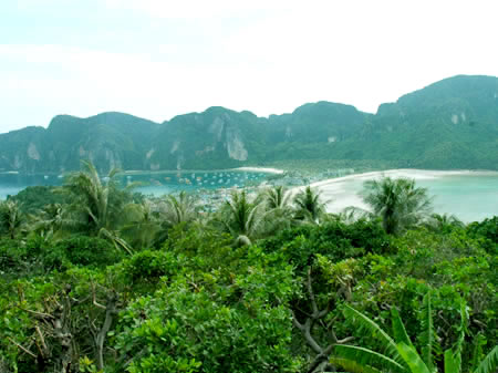 koh phi phi island view point